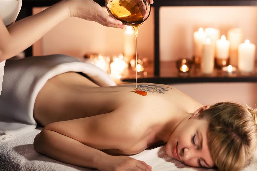 Honigmassage
